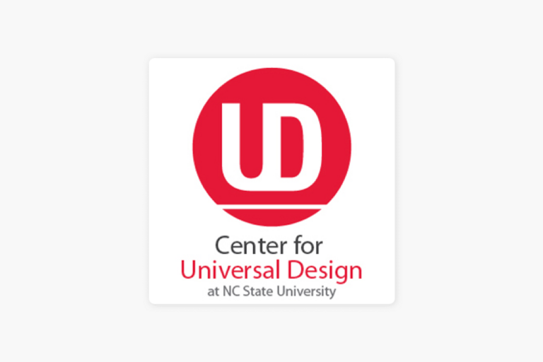 Center for Universal Design NC State Logo
