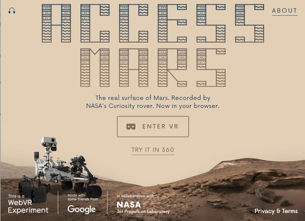 Access Mars Experience from the Jet Propulsion Lab (JPL)