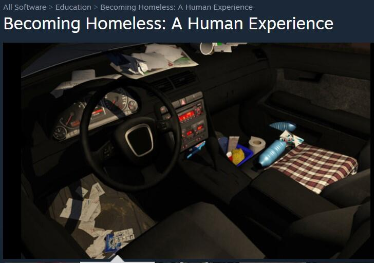 Becoming Homeless VR Experience